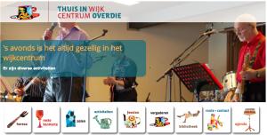 Gezelligheid en persoonlijk contact in Wijkcentrum Overdie Alkmaar.