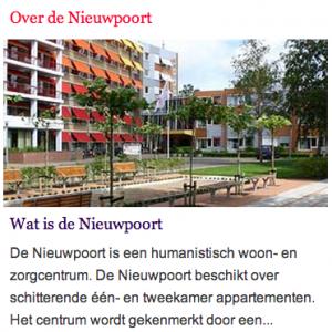 Zorgcentrum Nieuwpoort